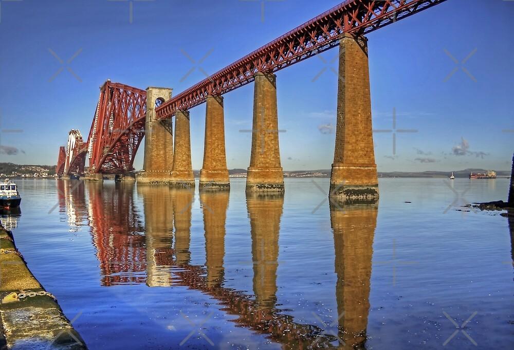 Bridge Reflections by Tom Gomez