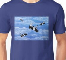 Falling Cows Unisex T-Shirt