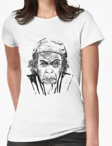 Old Girl Womens Fitted T-Shirt