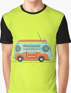 The Music Bus Graphic T-Shirt