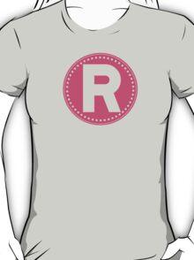 Chevron Letter R T-Shirt