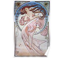 Alphonse Mucha - La Dansedance Poster