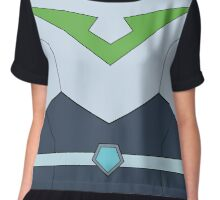 Pidge Voltron Paladin Uniform (With Belt) Chiffon Top