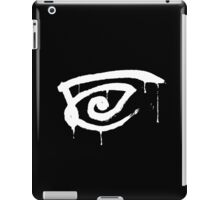 All Hail Eye white iPad Case/Skin