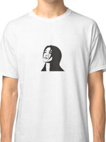 Uplooking Girl Classic T-Shirt