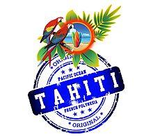 TAHITI Original Summer Beach Photographic Print