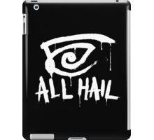 All Hail white iPad Case/Skin