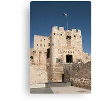 Citadel of Alepo Canvas Print