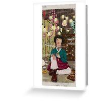 Cute Tough Greeting Card