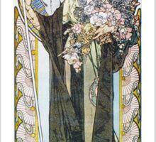 Alphonse Mucha - La Tosca Sticker
