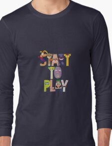 Start To Play Long Sleeve T-Shirt