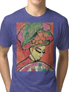 Alexei Jawlensky - Young Girl With A Flowered Hat  Tri-blend T-Shirt