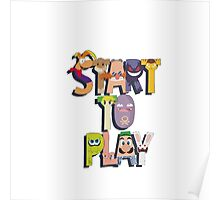 Start To Play Poster
