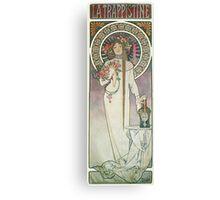 Alphonse Mucha - La Trappistine Canvas Print