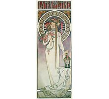 Alphonse Mucha - La Trappistine Photographic Print