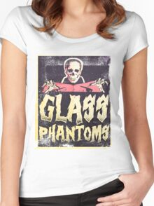 Glass Phantoms - Retro Undead Women's Fitted Scoop T-Shirt
