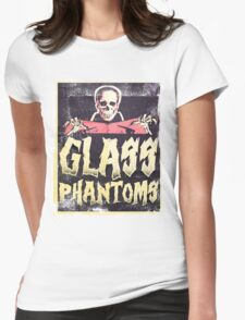 Glass Phantoms - Retro Undead Womens Fitted T-Shirt