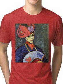 Alexei Jawlensky - Schokko With Red Hat  Tri-blend T-Shirt