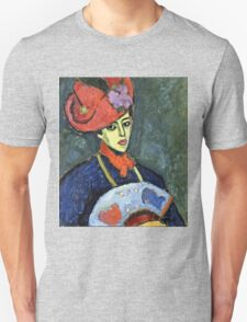Alexei Jawlensky - Schokko With Red Hat  Unisex T-Shirt