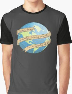 APATHETIC BLOODY PLANET Graphic T-Shirt