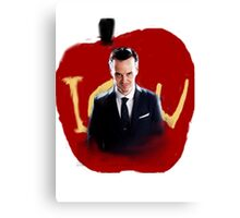 Moriarty iou Canvas Print