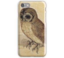 Albrecht Durer - The Little Owl 1506  iPhone Case/Skin