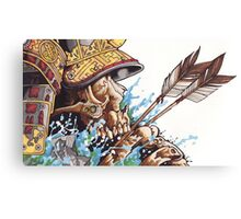 Death of a Dynasty Canvas Print