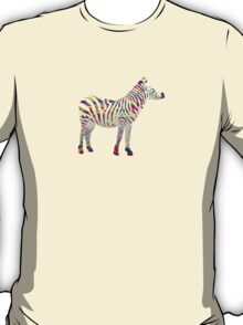 Rainbow zebra T-Shirt