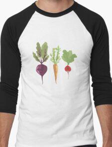 Vegetables Men's Baseball ¾ T-Shirt