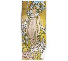 Alphonse Mucha - Le Lyslily Poster