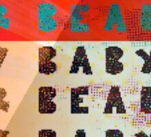 baby bear baby  Sticker