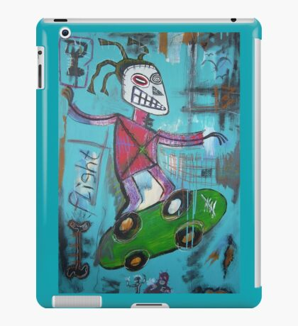 untitled (skater) iPad Case/Skin