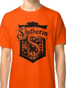 Slytherin House Crest  Classic T-Shirt