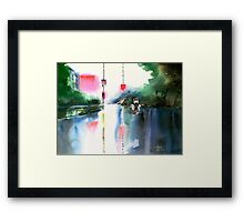 Rainy Day New Framed Print