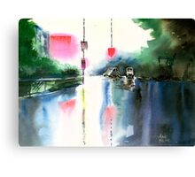 Rainy Day New Canvas Print