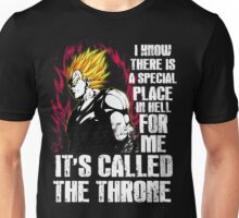 Dragonball Z - Vegeta (Special Place In Hell) Unisex T-Shirt