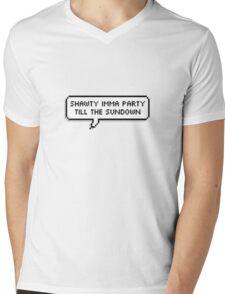 Shawty Imma Party Till The Sundown [[TRANSPARENT]] Mens V-Neck T-Shirt