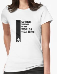 The Dark Tower Worlds Womens Fitted T-Shirt