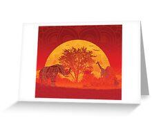 Afrika Greeting Card