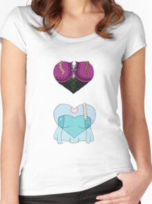 Sisterly Love Women's Fitted Scoop T-Shirt