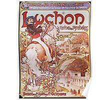 Alphonse Mucha - Luchon La Reine Des Pyreneesluchon Queen Of The Pyrenees Poster