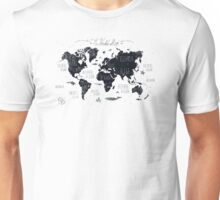 The World Map Unisex T-Shirt