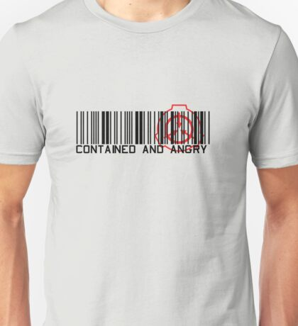 Contained and angry Unisex T-Shirt