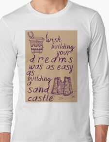 Sandcastle Dreams Long Sleeve T-Shirt