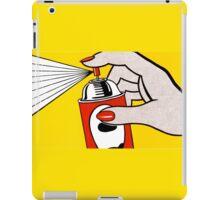 spray can - Pop Art iPad Case/Skin