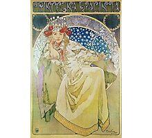 Alphonse Mucha - Princezna Hyacinta Photographic Print
