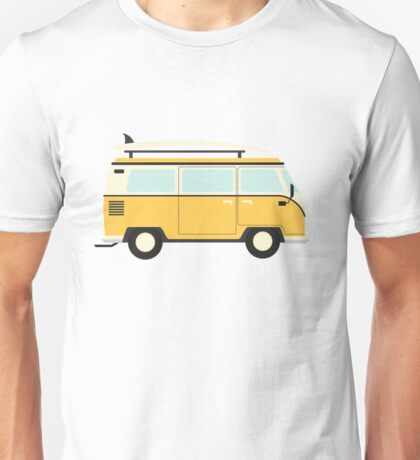 Yellow Kombi Unisex T-Shirt