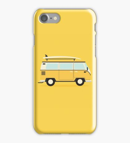 Yellow Kombi iPhone Case/Skin