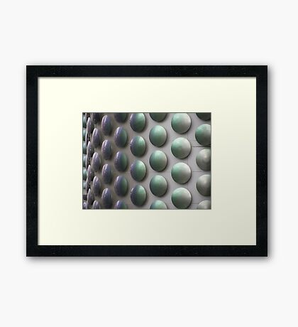 Bumps Framed Print