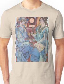 Alphonse Mucha - Benedictine Unisex T-Shirt